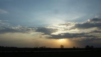 May 2012 sunset