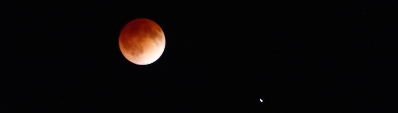 The Blood Moon, April 15, 2014.