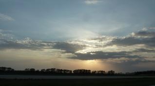 Shining through at Sunset