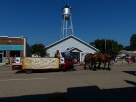 Lidgerwood, N.D., Heritage Days parade.