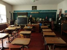 Museum addition, old school room